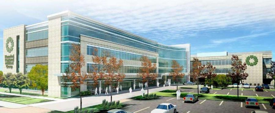The expansion will add more than 137,000 square feet of new construction along with 50,000 square feet of renovated spaces to help meet the region's health care needs.