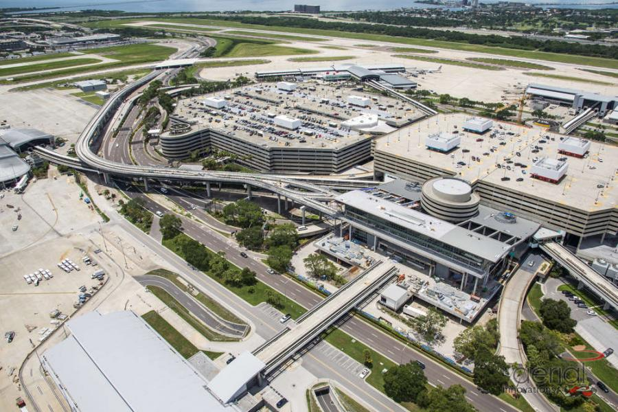 As part of the largest renovation to Tampa International Airport since it opened in 1971, construction crews in Florida are continuing work on Phase I of a massive master plan expansion.