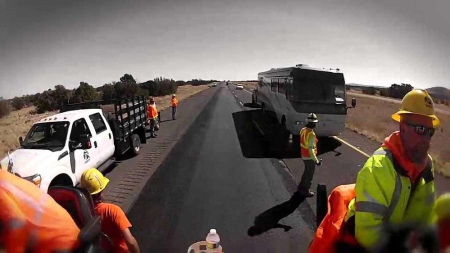 Thirty-one individuals seeking a hand up obtained entry-level positions as flaggers on construction projects, paying $13 to $19 per hour, due to free training provided by the Arizona Department of Transportation. (ADOT photo)