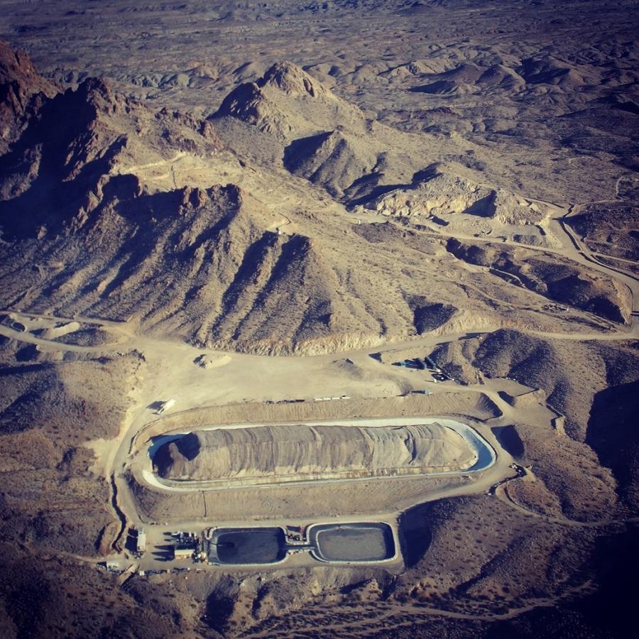 Northern Vertex Mining Corp.'s Moss Mine project located near Bullhead City, Ariz.