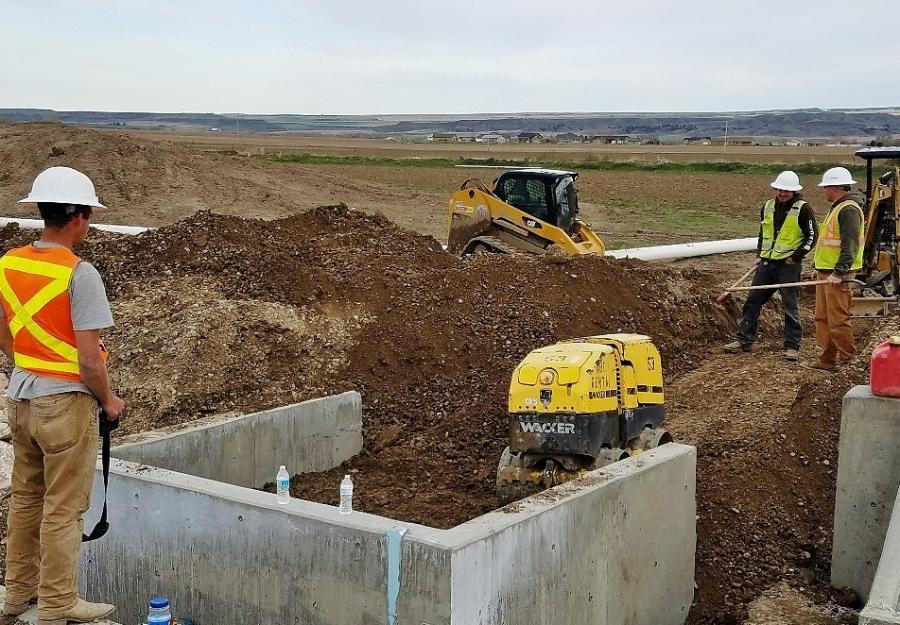 MDT Makes Improvements on U S  Highway 212   Construction