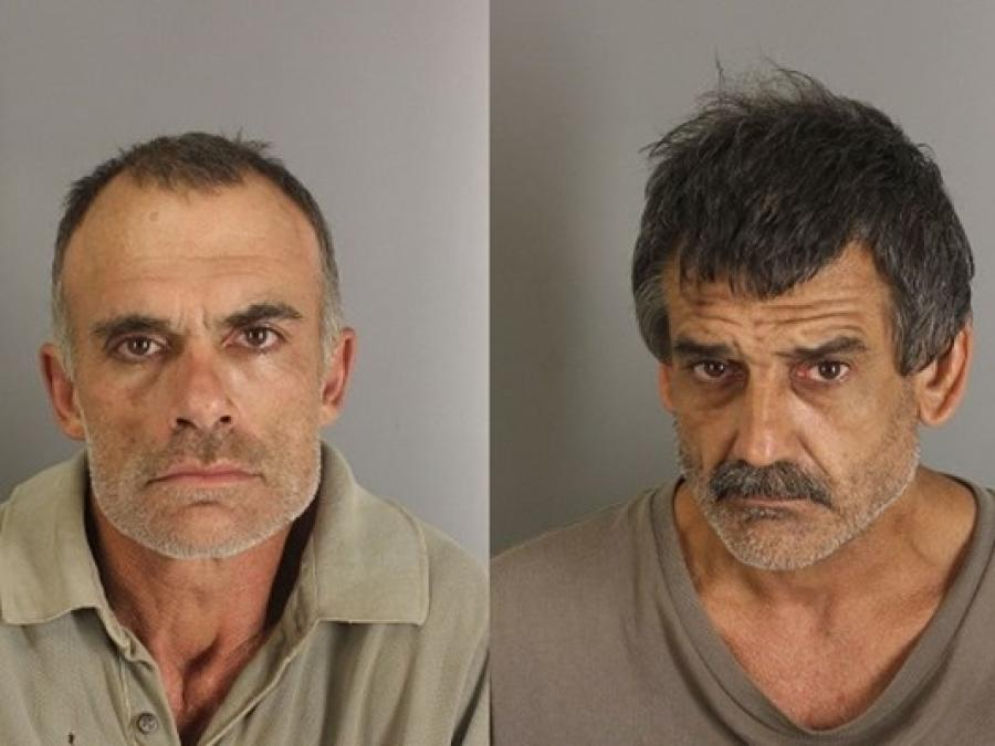 James Hoffpauir, 52, and Arlington Wood, 49, both of Vidor, are charged with third degree felony theft.