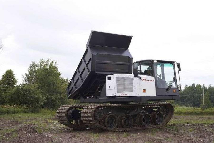 Multi Machine, Inc. of Asbury, NJ continues to expand its Sales and Rental options with the addition of the new Prinoth Panther T14R Rotating Tracked Dumper.