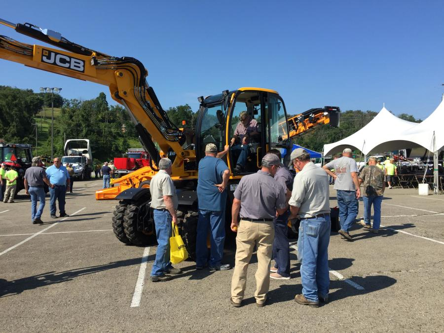 Walsh Equipment held a regional equipment show at the Washington Wild Things 