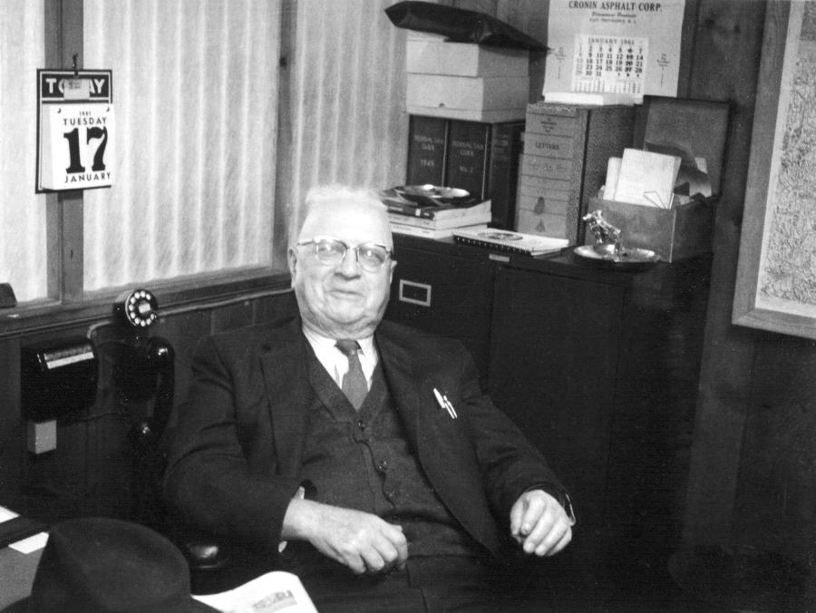 Albert A. Gorman, Mark and Tony Gorman's grandfather, was one of the original owners.