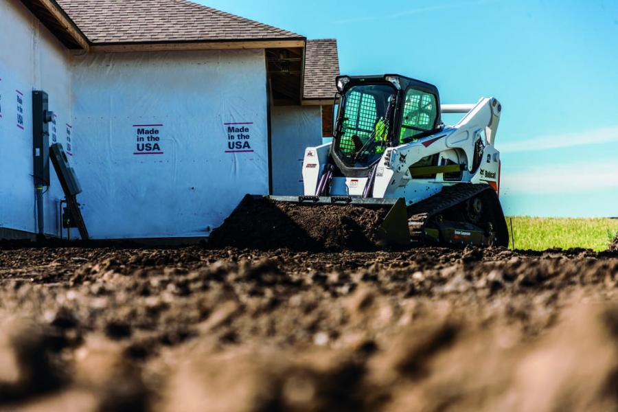 M2-Series T870 compact track loaders are the first Bobcat loaders manufactured with the new 5-Link torsion suspension undercarriage.