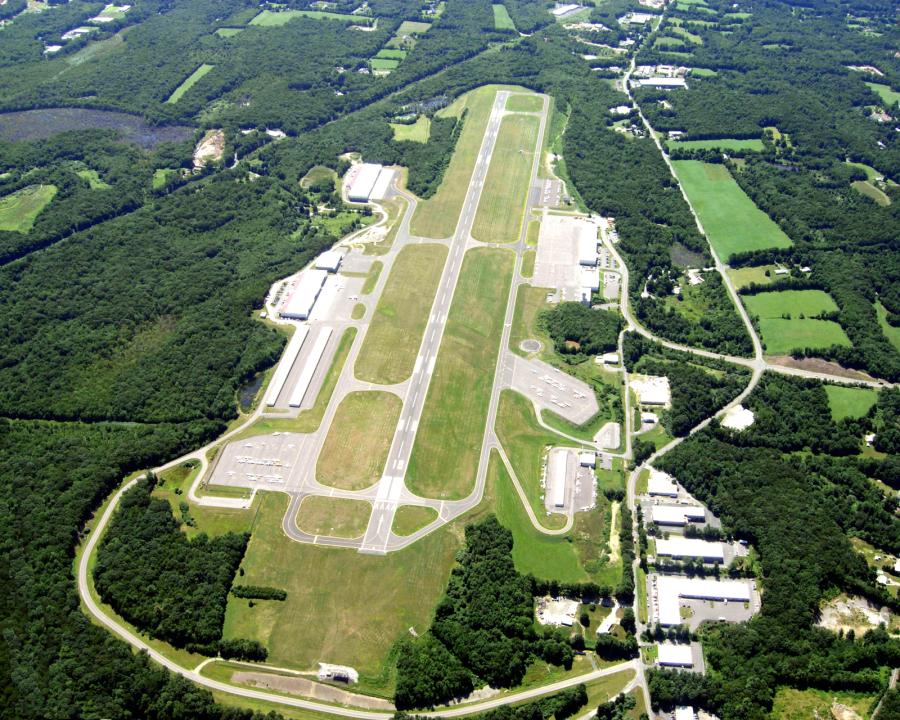 The Waterbury-Oxford Airport in Oxford, Conn. will receive $28.9 million to repair Runway 18/36.
