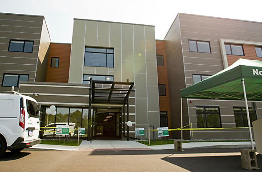 Northwestern Michigan College had a grand opening for the 135-bed North Hall.