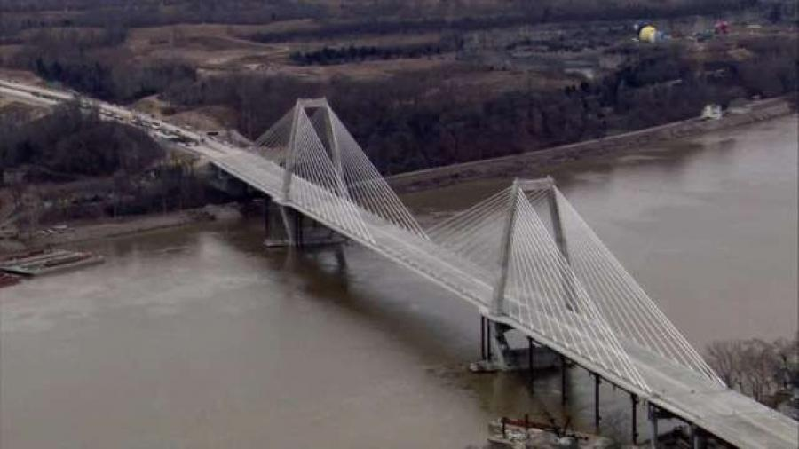 The new Lewis and Clark Bridge is sparking development of three hotels and several other projects.