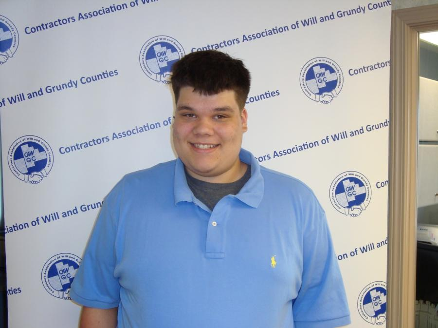 Nolan A. Cox, a 2017 graduate of Joliet Catholic Academy, will be attending Joliet Junior College and majoring in construction management.   His parents are Jason (partner at Len Cox & Sons, a CAWGC member) and Amy Cox.
