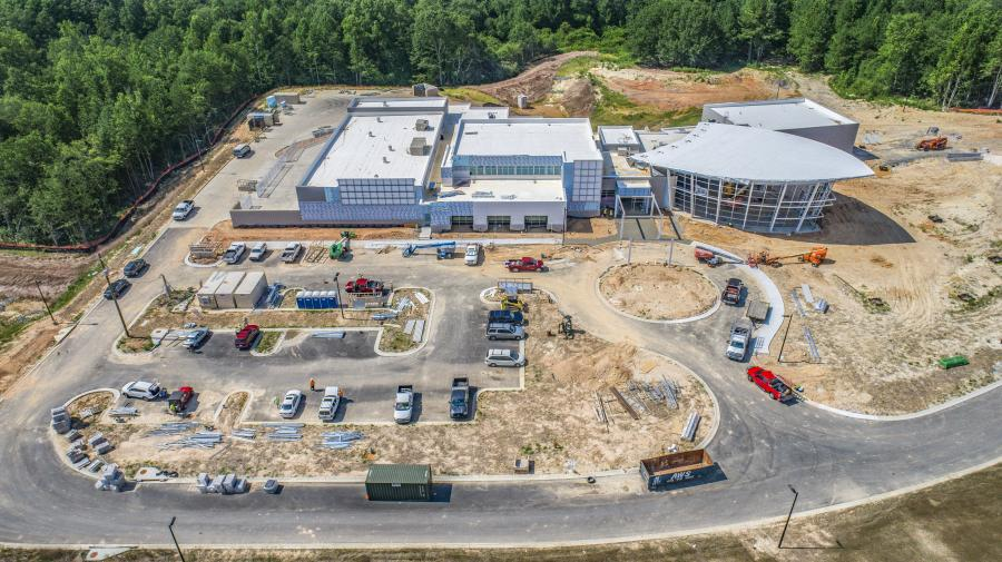 Construction crews in Acworth, Ga., are nearing completion on a $25 million training and customer experience facility that's expected to open soon.