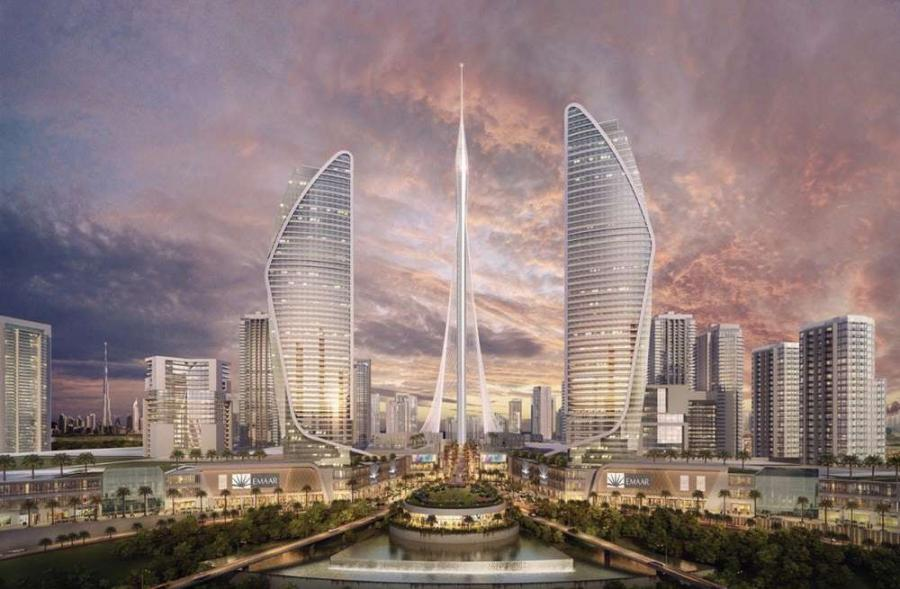 The Dubai Creek Tower is expected to be completed in 2020, and will be centered in Dubai Creek Harbor, an area that contains residences, along with retail and office space.