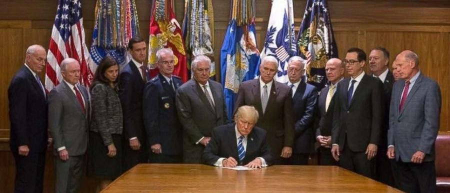 President Trump recently signed a bill approving the construction of a Global War on Terror memorial to honor those who sacrificed their lives in Iraq and Afghanistan since 2001.