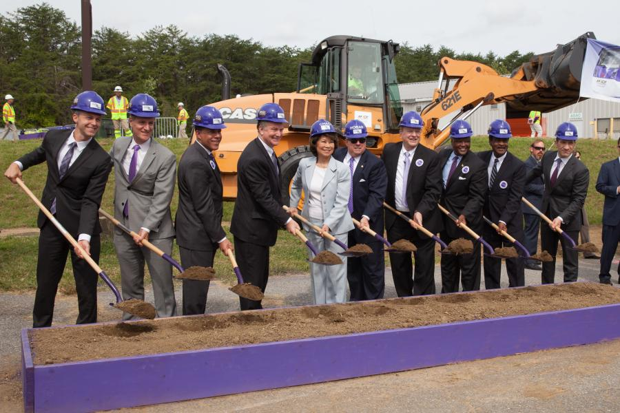 The groundbreaking was capped off with the signing of the U.S. Department of Transportation Federal Transit Administration's (FTA) Full Funding Grant Agreement (FFGA) of $900 million from its Capital Investment Grant Program.