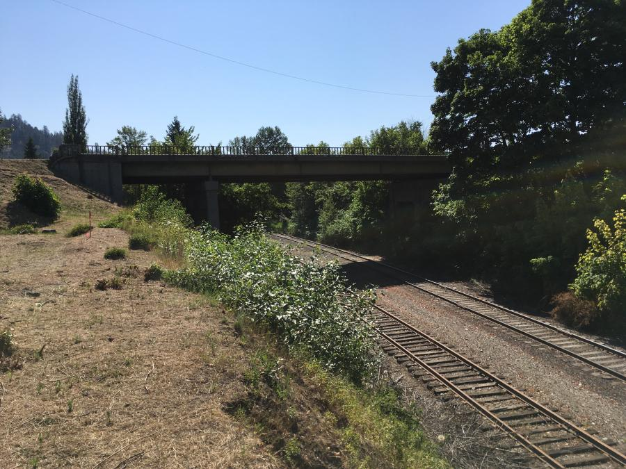 The St. Maries railroad bridge replacement project will begin in September.