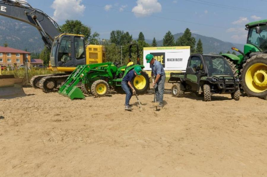 Papé Machinery broke ground on a new Northern Idaho full-line dealership and service center in Ponderay, Idaho.