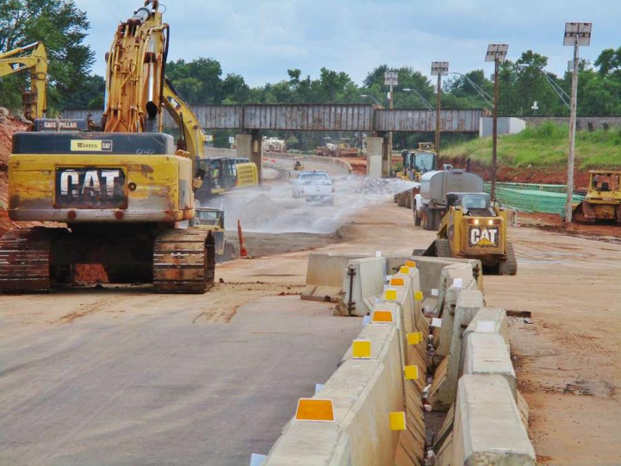 "ODOT is project manager for a major road construction production titled ""Off Broadway 44"" in Oklahoma City, featuring an $81 million highway widening and bridge construction project.