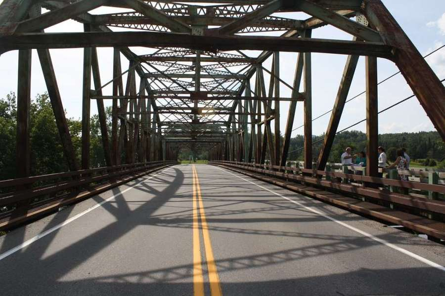 The Rogers' Rangers Bridge on U.S. Route 2, which was built in 1950, will be replaced.