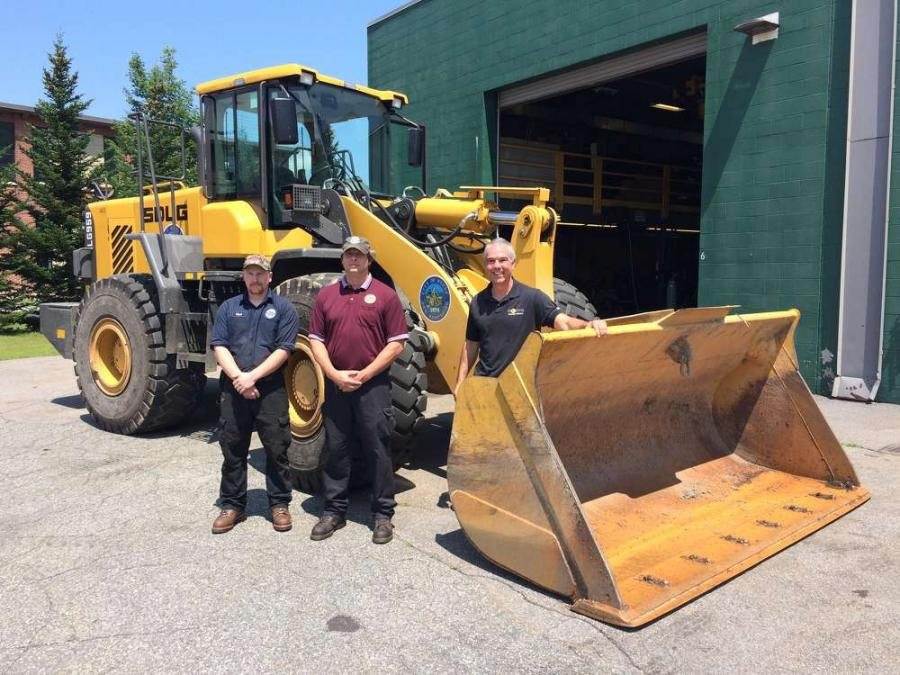 Keene, N.H., has used an SDLG LG959 for loading aggregate materials and snow removal since September 2016, and city operators appreciate the wheel loader's quality and simplicity.