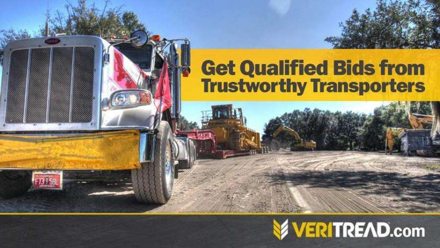 "VeriTread (""VT"") provides an online transportation marketplace that connects construction equipment owners with transportation service providers."