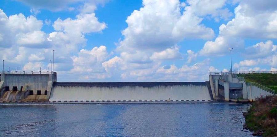Union Lake Dam in Cumberland County, N.J.