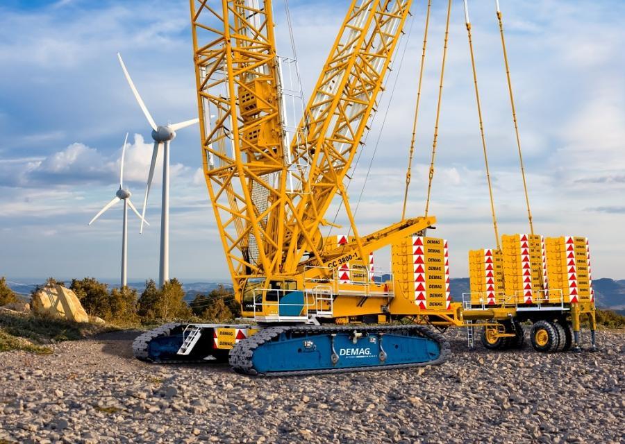 Poland's Crane Rental is adding three new Demag CC 3800-1 lattice boom crawler cranes, two Demag AC 220-5 all terrain cranes and a Demag AC 300-6 all terrain crane.