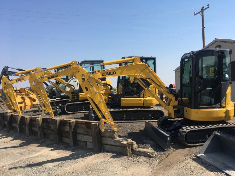 Central Equipment will represent KOBELCO USA as a mini excavator dealer in Idaho.