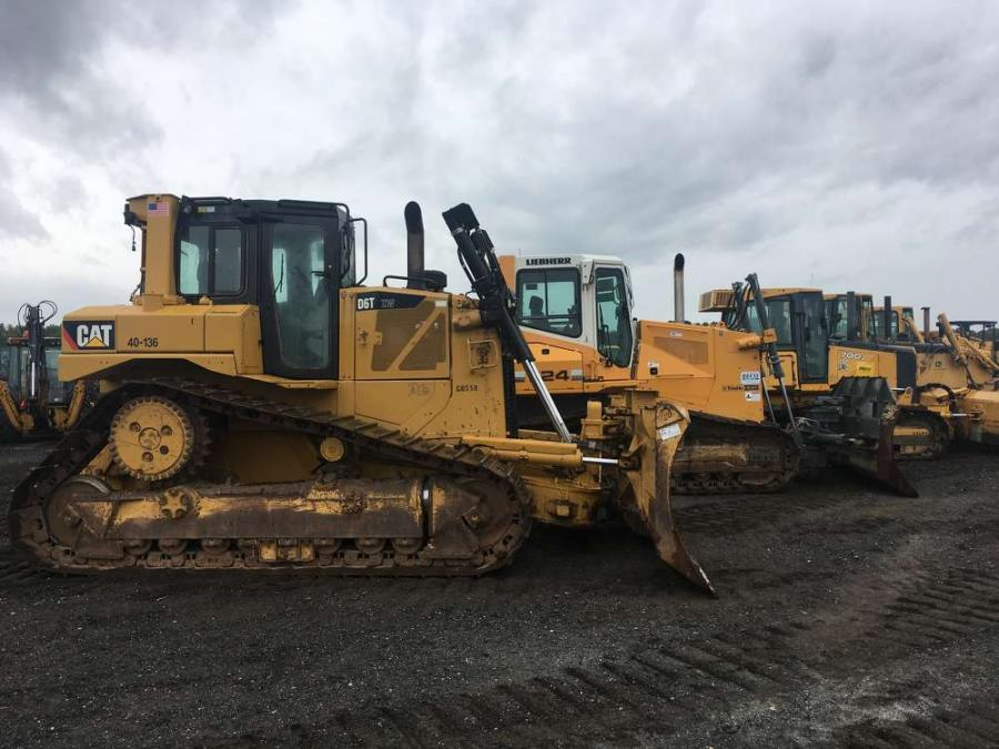 More than 2,450 equipment items and trucks were sold in the auction, including an extensive selection of dozers.