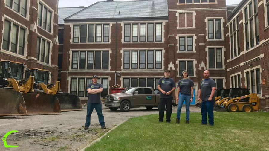 Heavy Equipment Response Coalition, a nonprofit providing resources for disaster mitigation, response, and recovery, assisted nonprofit Life Remodeled in its annual project to beautify Detroit.