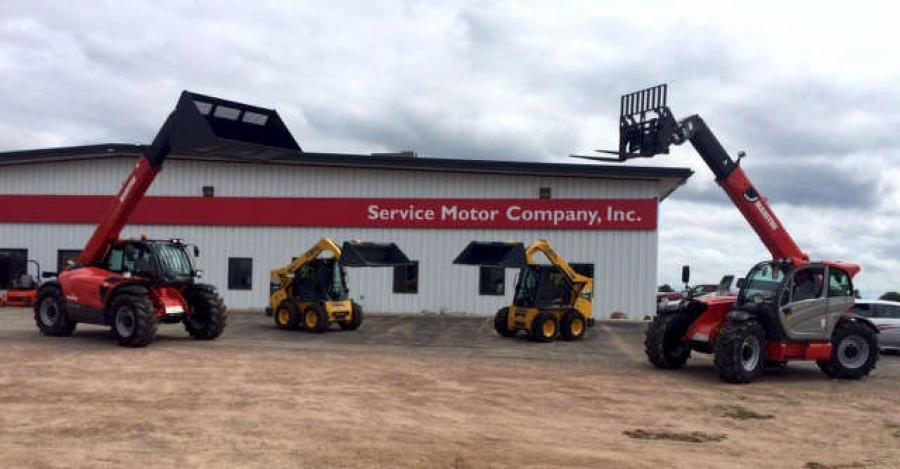 Manitou Americas announced Service Motor Company, a longtime Gehl dealer, has added the MLT Series agriculture telescopic loader to the product line offered at its Steven's Point and Wausau locations.