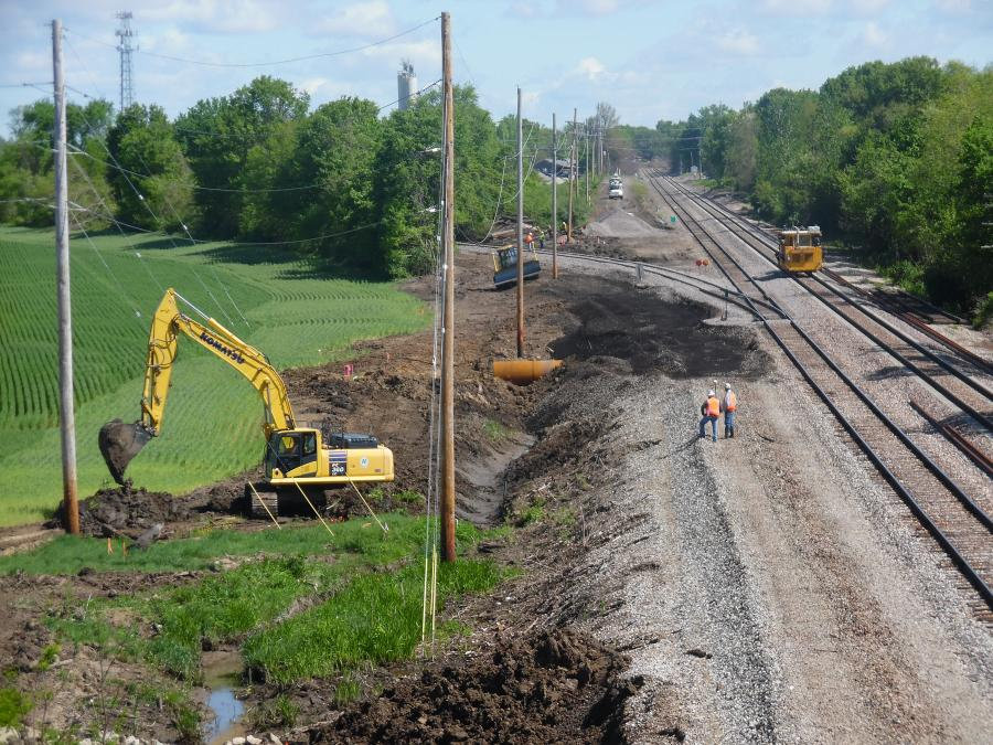 Millstone Weber LLC crews are tackling two major contracts for the renovation and upgrade of more than 400 mi. of Union Pacific linking St. Louis and Chicago. (Millstone Weber Photo)