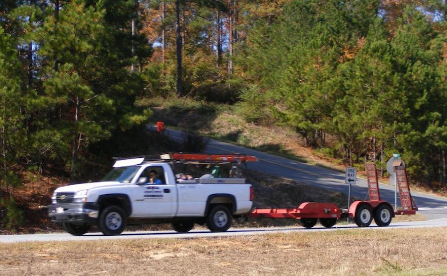 Trailer towing involves three primary elements: the work truck used to tow; the trailer and payload being towed; and towing system components (e.g., hitch system and safety chains). Each has limiting factors that directly affect maximum towing capability.