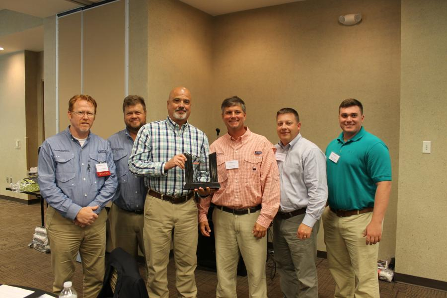 Tractor & Equipment Company (TEC) received the T.W. Pugh Excellence in Safety Award by CompTRUST AGC at its inaugural Construction Risk Summit in August.