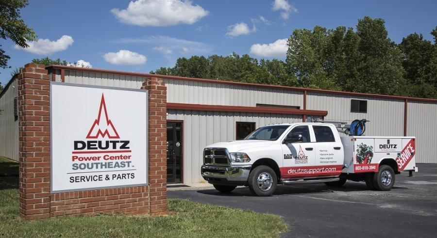 Deutz Carolinas is now officially Deutz power center Southeast.
