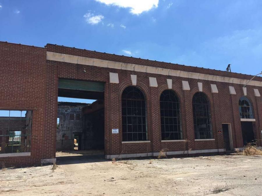 A historic industrial property in downtown Paragould is on the market after years of deterioration and neglect. (Help Us Save the Power Plant photo)