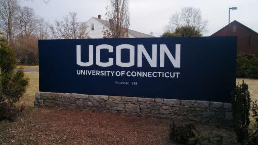 The University of Connecticut was unable to complete scheduled road construction this summer, leaving one entrance to campus closed and several roads with altered or one-way traffic patterns.