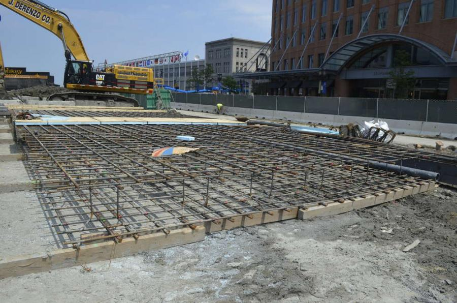Crews Build Slurry Wall for Boston High-Rise in Seaport