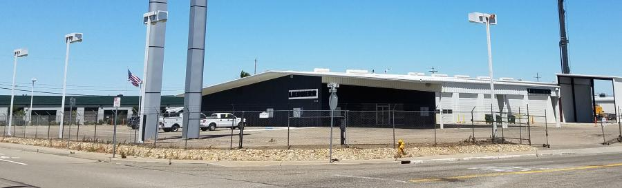 The new Liebherr facility in Lodi, Calif.