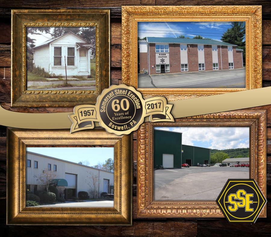 Photos of original building in Somerset and today's facilities in Boswell, Pa., Williamsburg, Va., and Cumberland, Md.