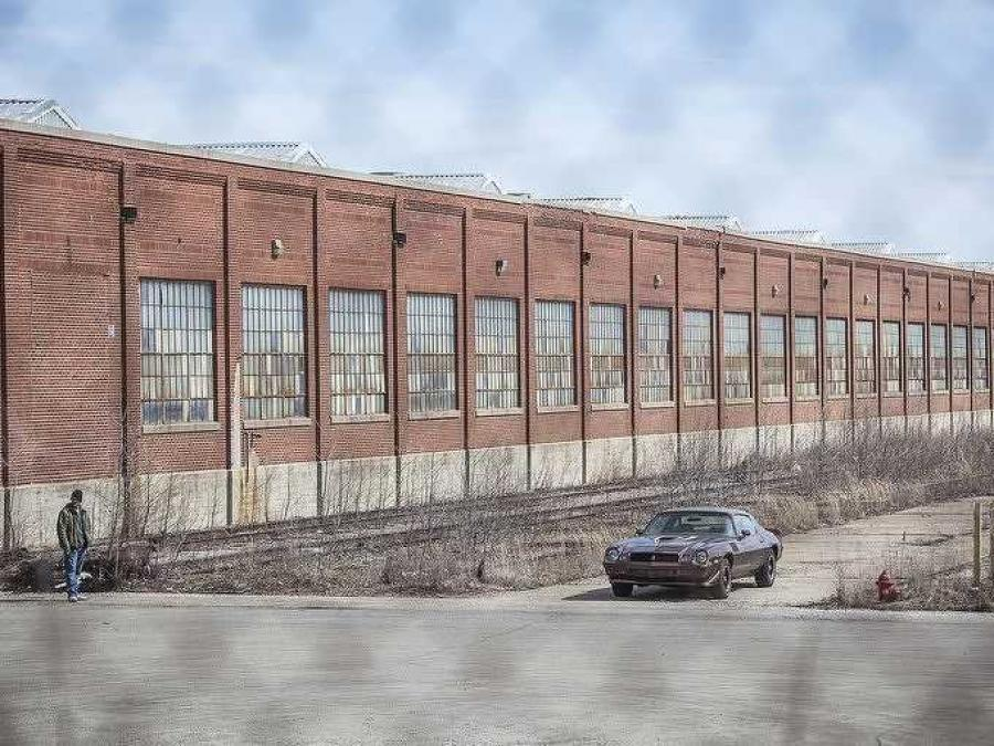 Crews have begun pulling down a sprawling former BorgWarner auto transmissions factory in central Indiana that once employed thousands of workers.