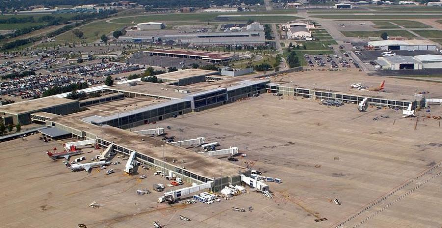 Twelve million dollars in grant funds will be used to repair Taxiway J at the Tulsa International Airport in Tulsa, OK.