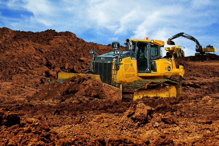 After a successful showing at CONEXPO-CON/AGG 2017, the John Deere 950K PAT Crawler Dozer is now officially available at dealers across North America.
