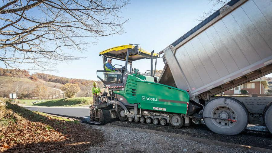 The new 8-ft. (2.4 m) Super pavers are the successors to the previous VISION 5100-2 and VISION 5103-2.