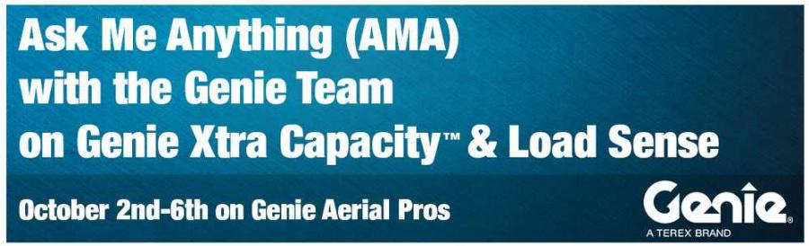 Ahead of this event, Genie encourages customers and key stakeholders to gain preliminary information on this topic through a video presentation, which can be accessed at Genie AMA Event Presentation. Additional information and resources can be found at www.aerialpros.genielift.com.