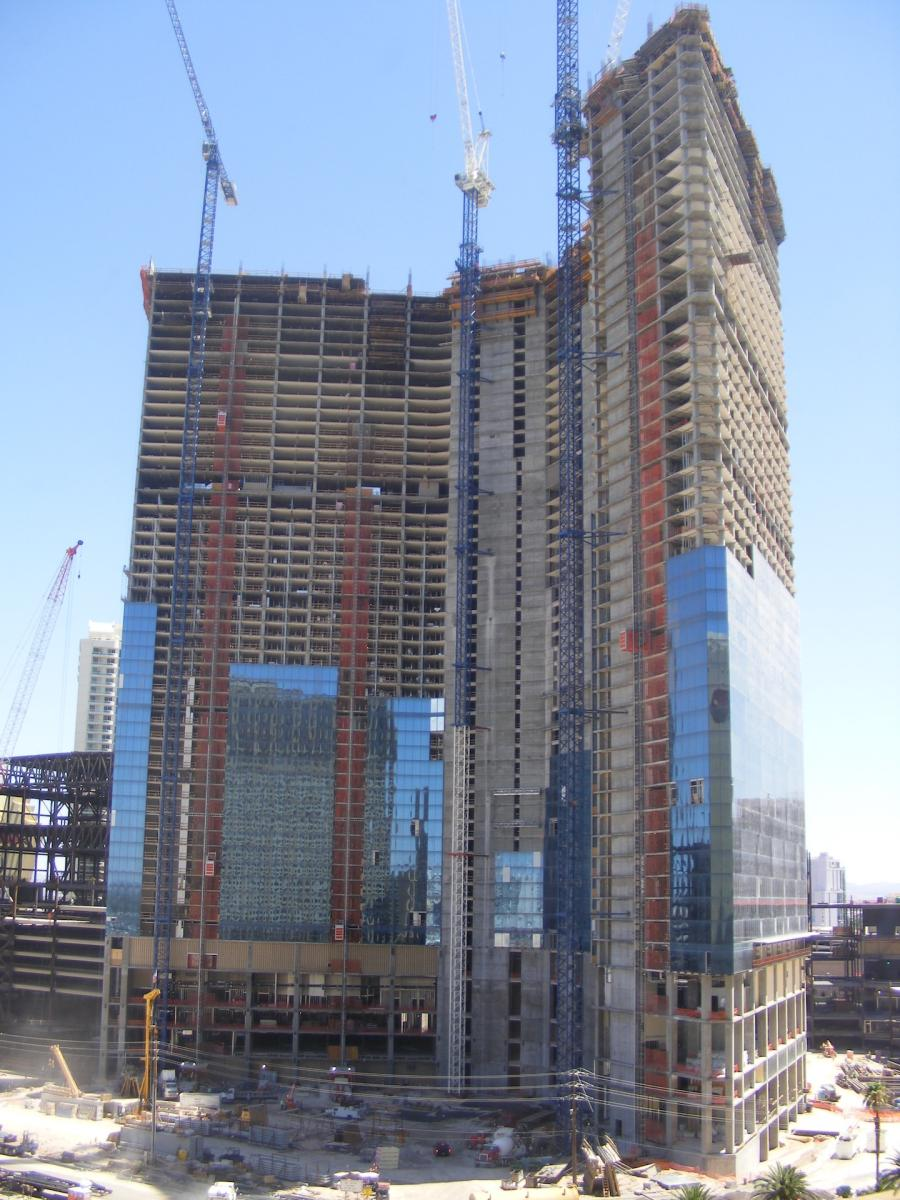 A long-mothballed, unfinished casino-hotel on the Las Vegas Strip has been sold for $600 million, eight years after construction halted on the 63-story tower amid the recession.