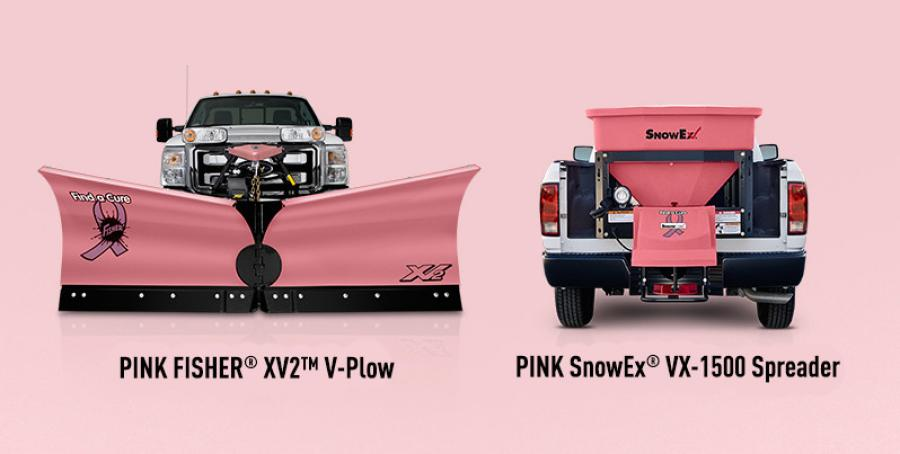 Fisher Engineering, the manufacturer of Fisher brand snow removal and ice control equipment, announced Sept. 28, the support of Breast Cancer Awareness month in partnership with SnowEx.
