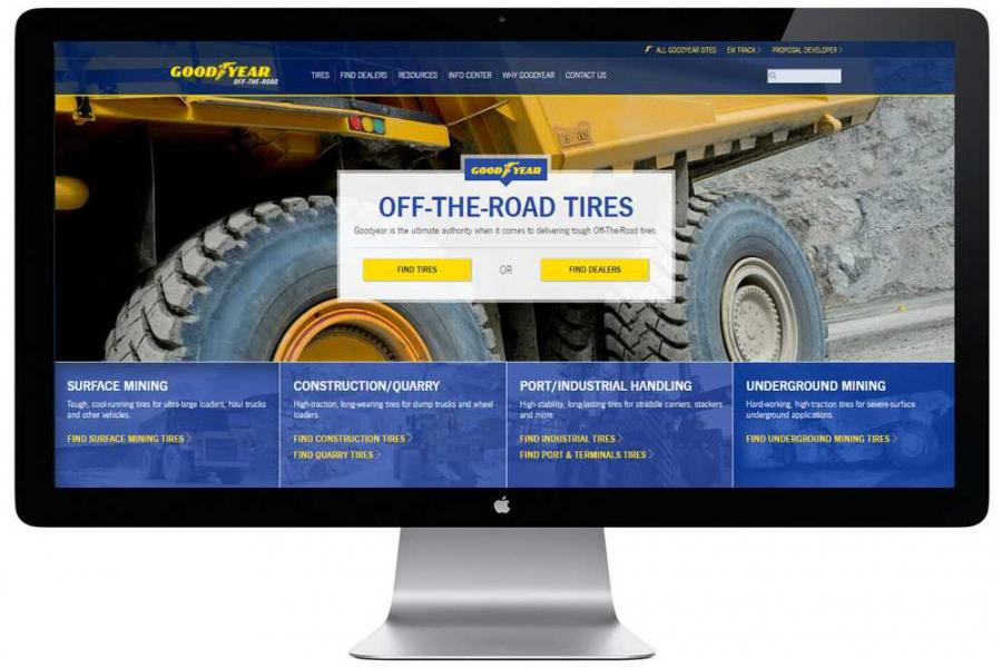 The Goodyear Tire & Rubber Company has completely overhauled its OTR tire website, www.goodyearotr.com, to provide an enriched user experience and help mining, construction, quarry and port operations discover how Goodyear can help enhance their efficiencies and lower their operating costs.