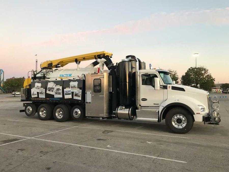 """The new HXX concept showcases our latest design thinking in terms of improvements in payload capacity, weight distribution, operation and performance,"" said Ben Schmitt, product manager at Vactor Manufacturing."