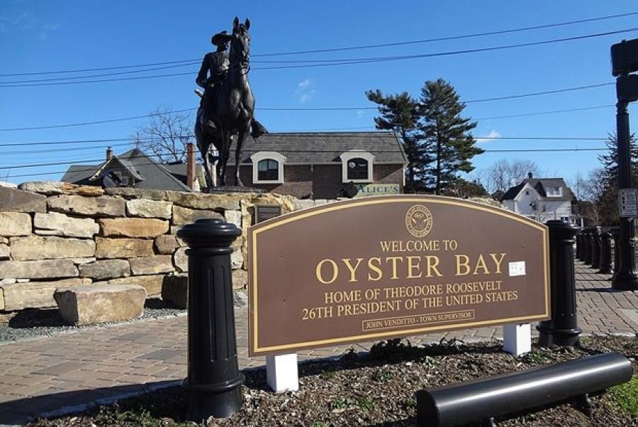 The Oyster Bay Town Board approved a contract earlier this month to build the Syosset memorial park, which will include two beams from the former World Trade Center.