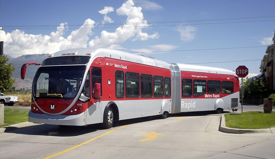 During peak hours, the buses would come every six minutes, and could get priority at traffic lights, the Salt Lake Tribune reported. What's more, extra-long buses would have the ability to travel in bus-only lanes during half of their 10.5-mile route.